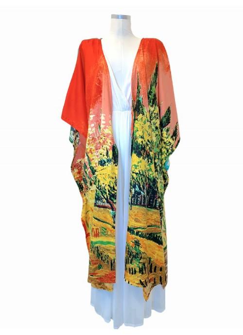 BROCHE bambú con rhinestone y cristal