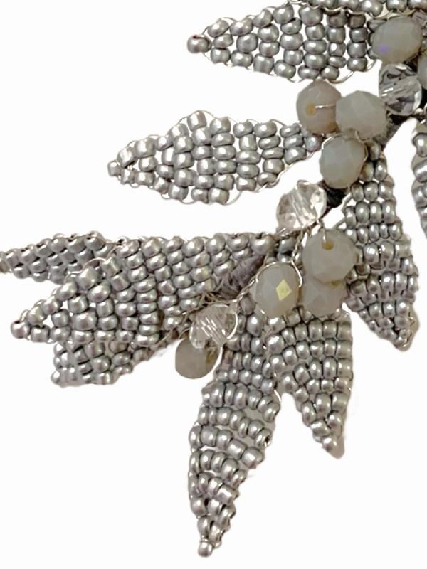 Pendiente joya roncallas y cadenas